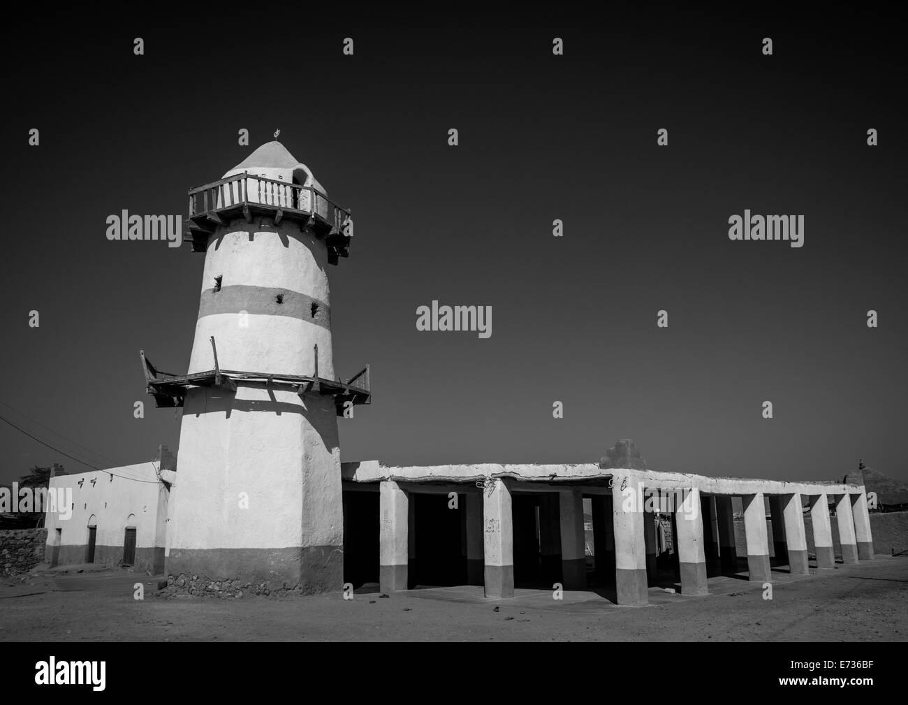 Big Mosque, Assaita, Afar Regional State, Ethiopia - Stock Image