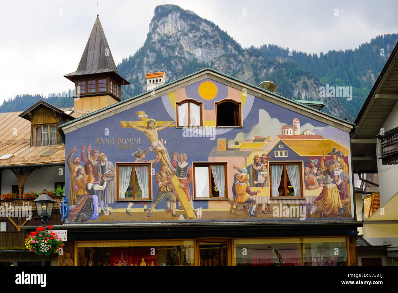 Painted Houses Of Oberammergau