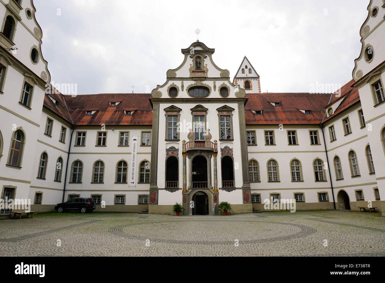 City Museum, Fussen, Bavaria, Germany, Europe - Stock Image