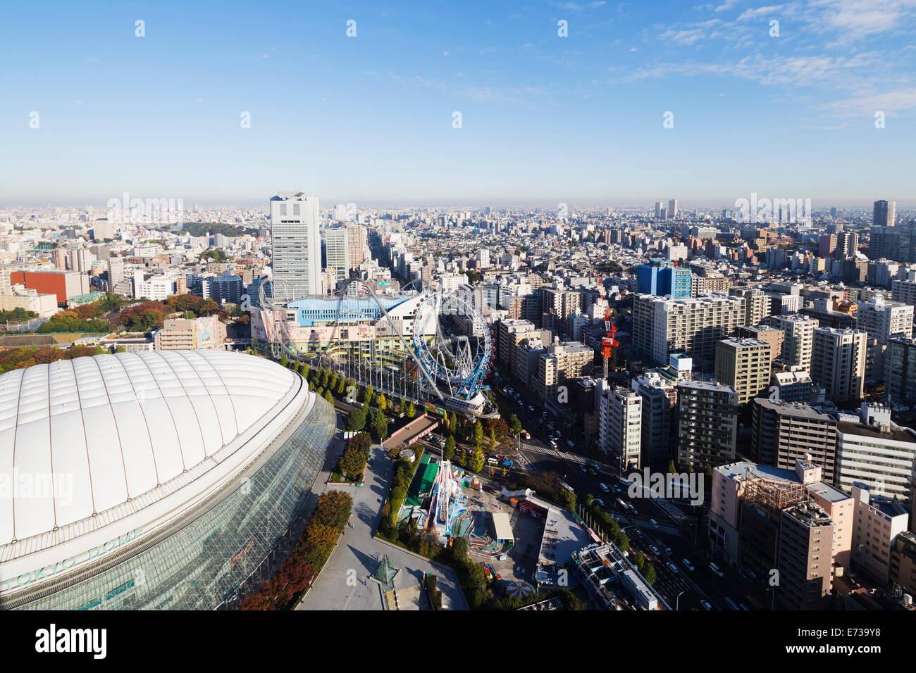 Tokyo Dome, Tokyo, Honshu, Japan, Asia - Stock Image