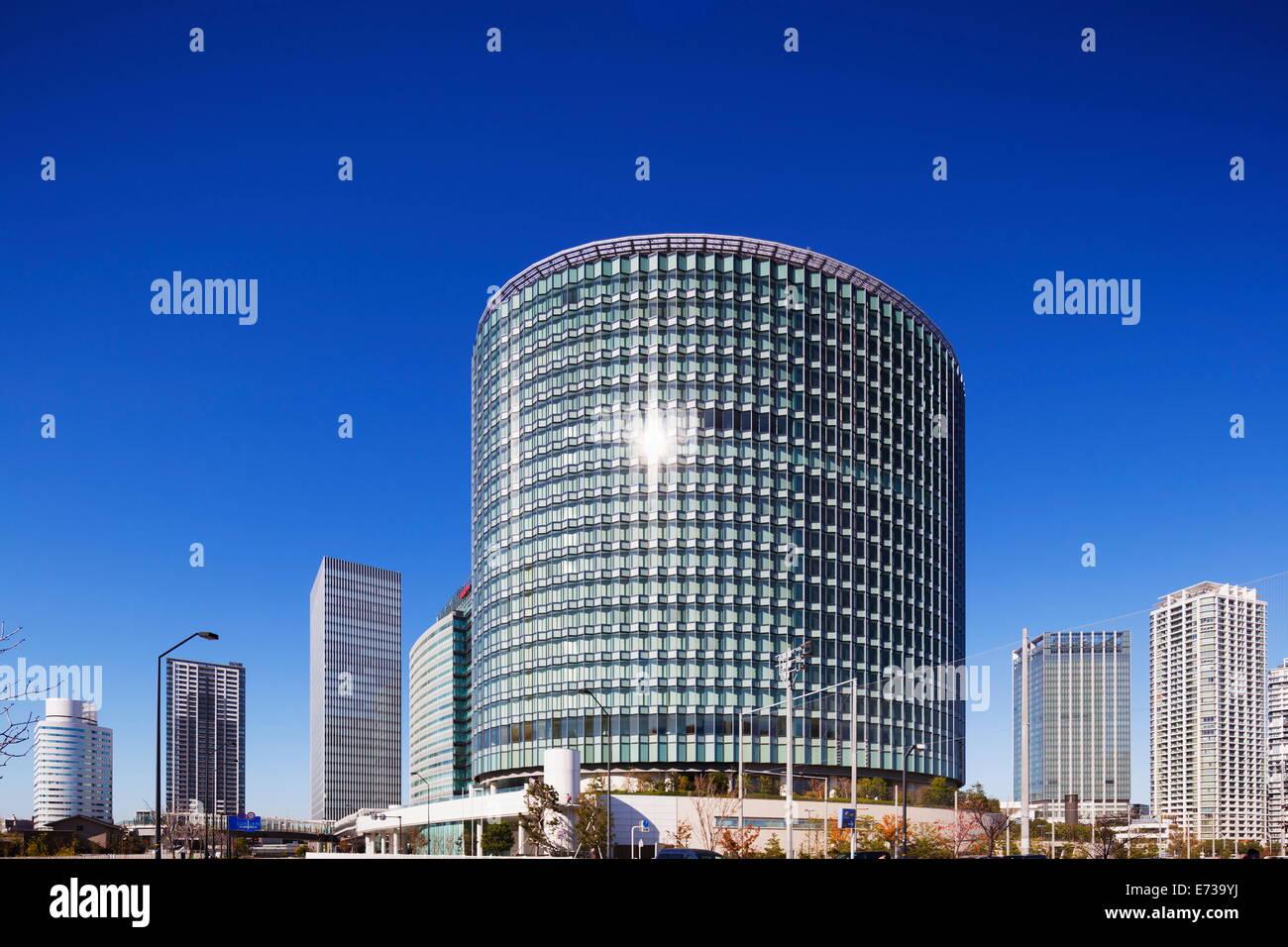 Business district, Yokohama, Honshu, Japan, Asia - Stock Image