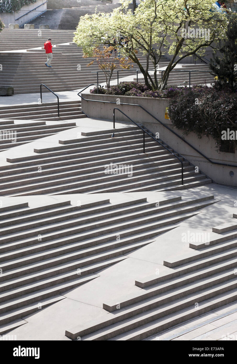 Dog Ramp For Bed >> Robson Square in Vancouver, British Columbia, Canada Stock ...