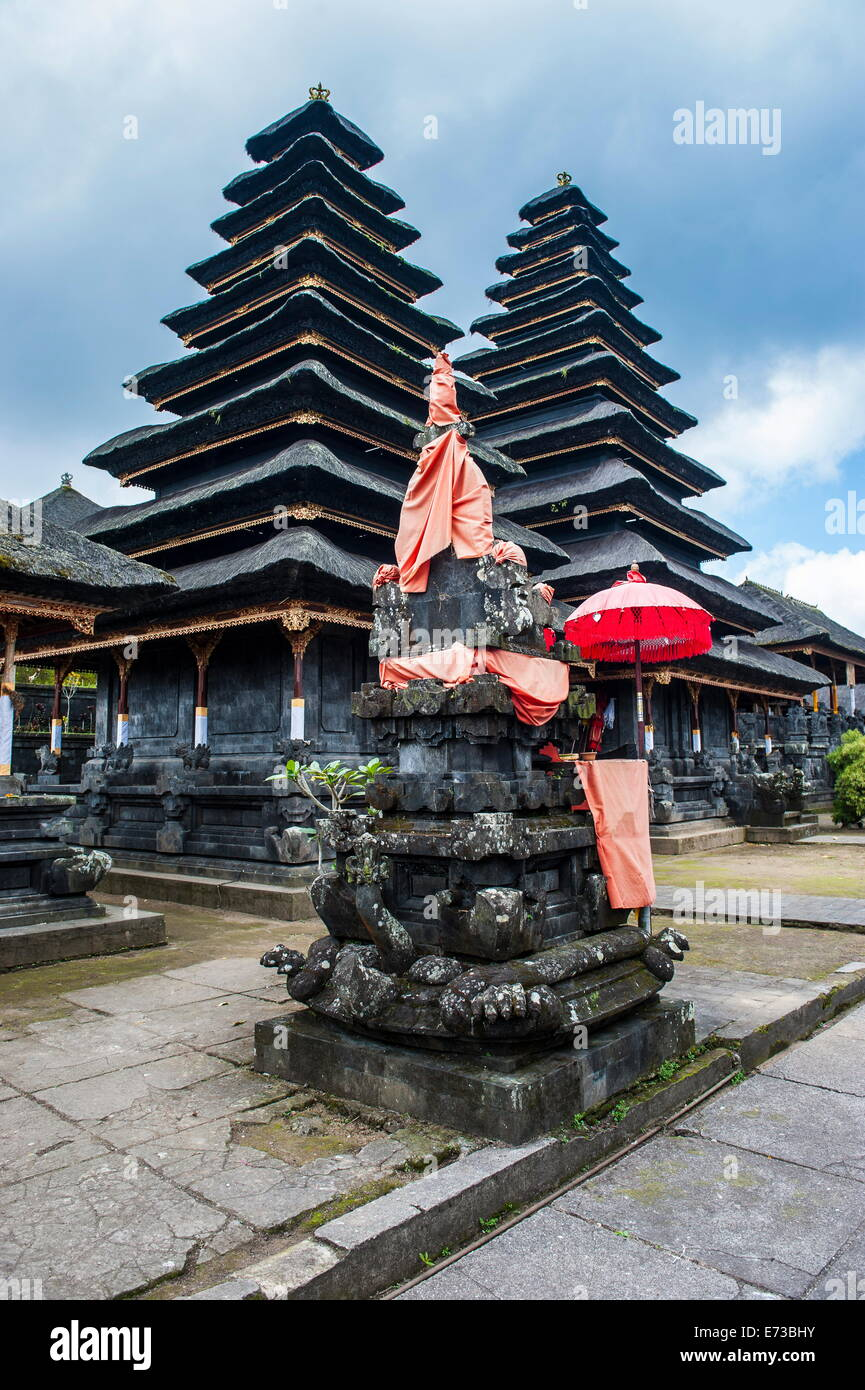 Pura Besakih temple complex, Bali, Indonesia, Southeast Asia, Asia - Stock Image
