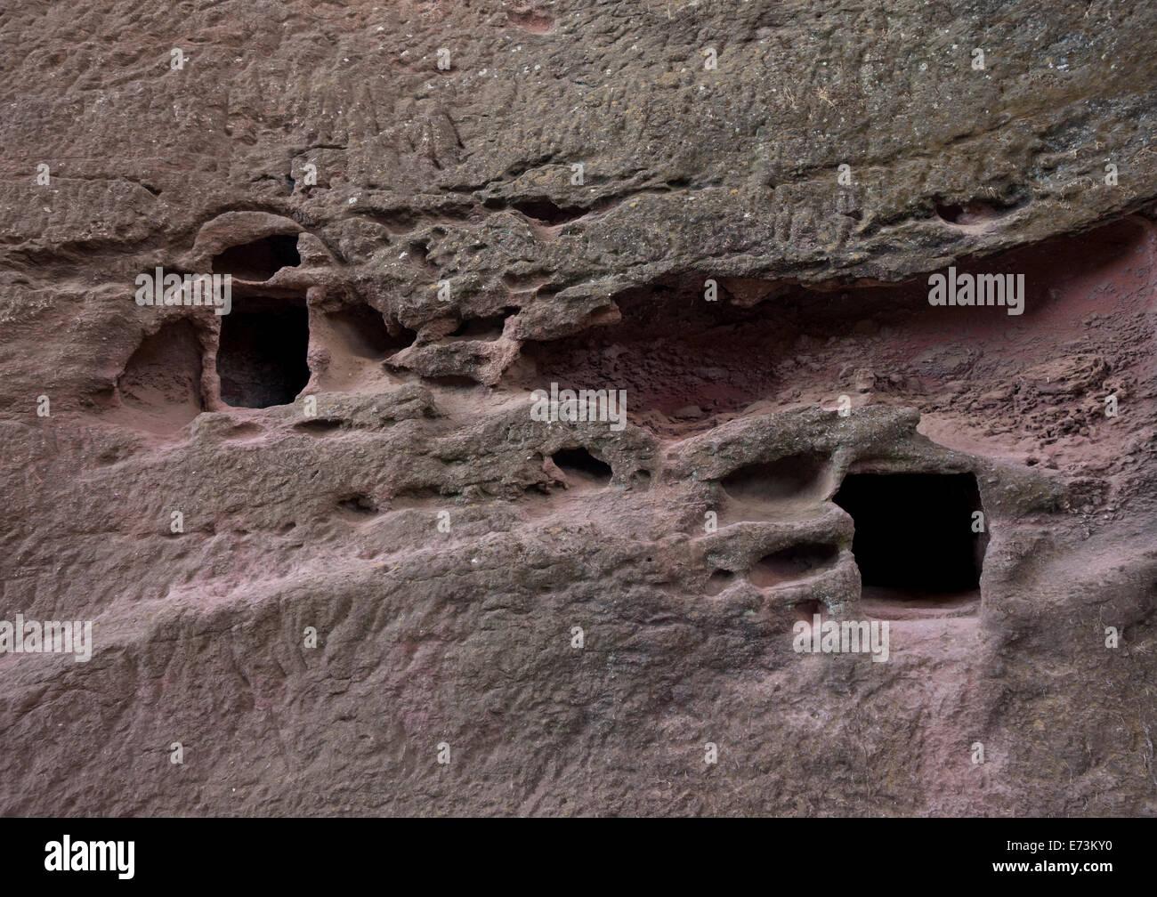 Rock Church, Lalibela, Ethiopia - Stock Image