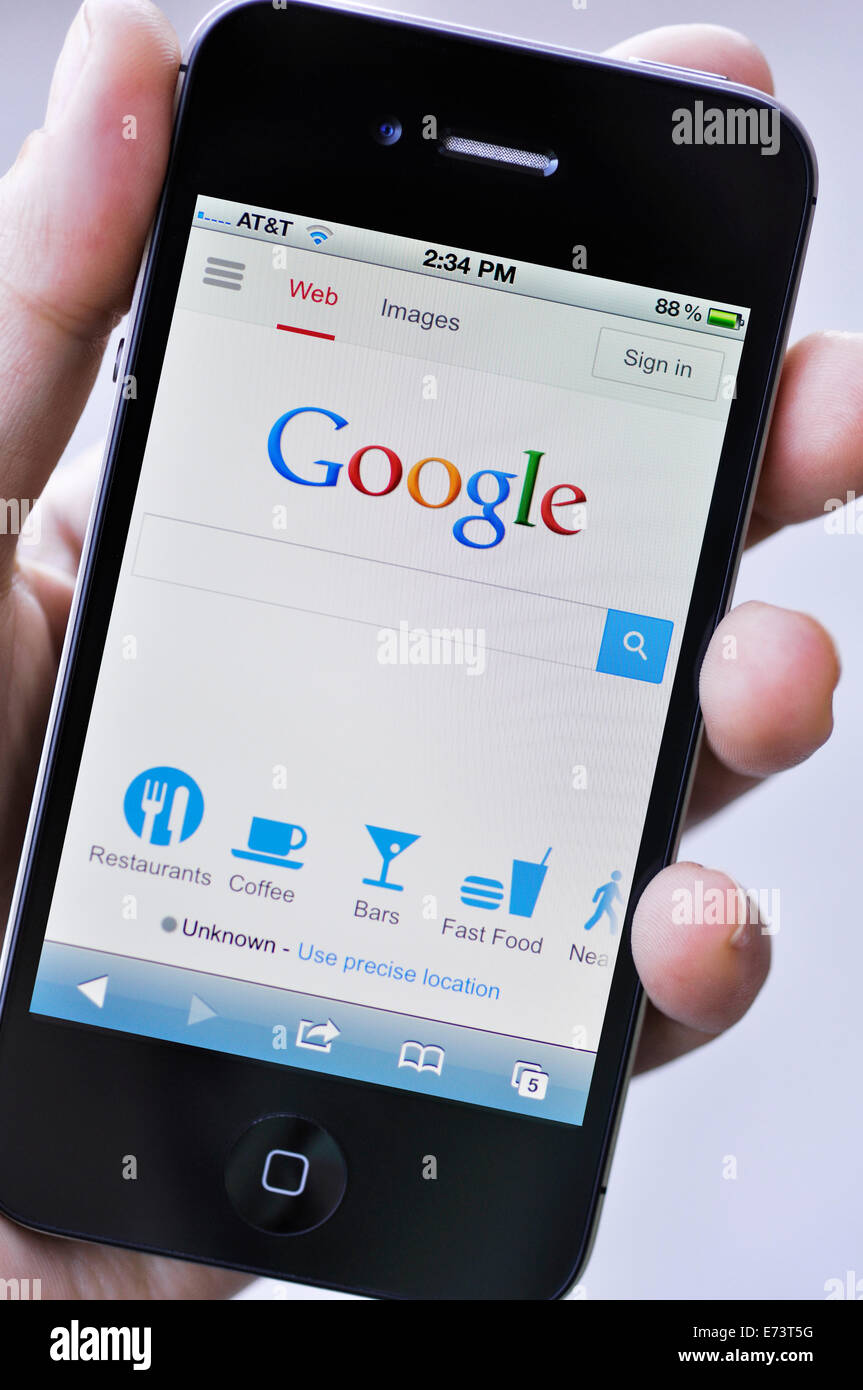 Google Search Phone Stock Photos Google Search Phone Stock