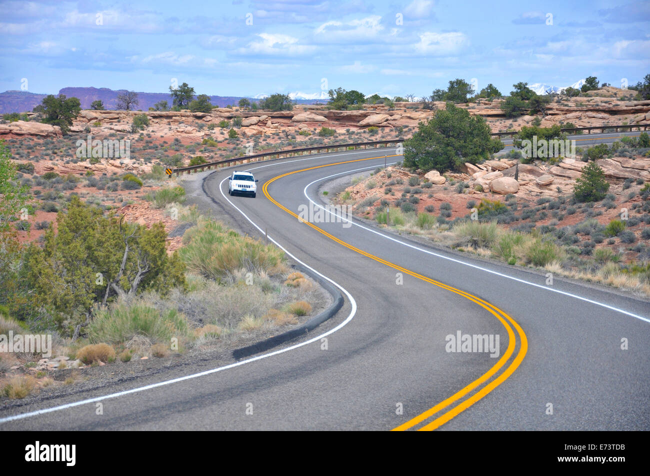 Canyonland National Park, Utah, USA - Stock Image