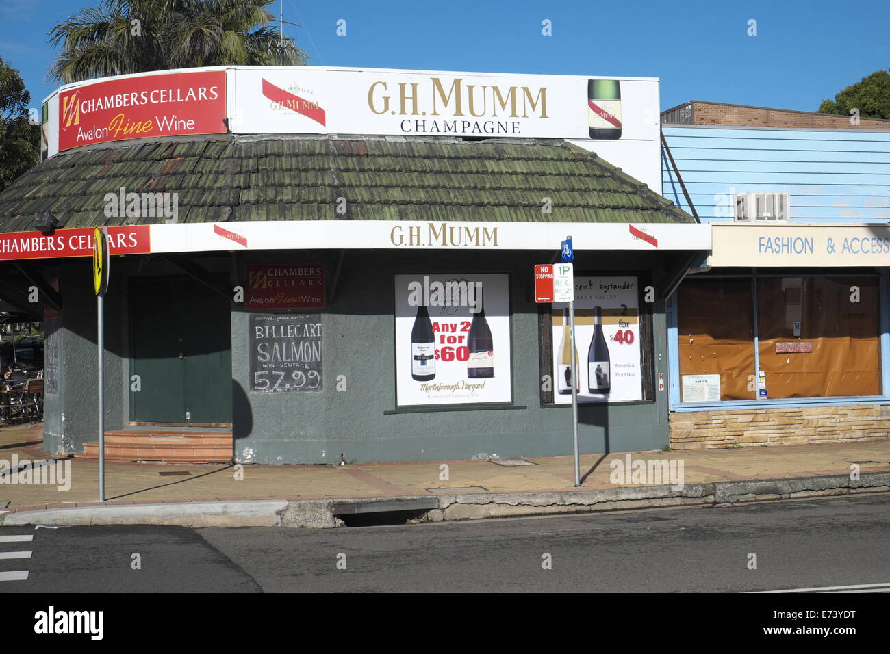 sydney off licence liquor store in Avalon new south walesaustralia - Stock Image & Liquor Licence Stock Photos u0026 Liquor Licence Stock Images - Alamy