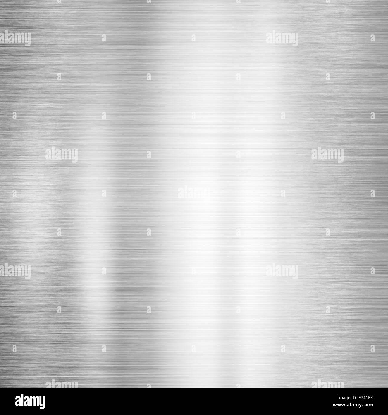 Steel brushed metal surface background - Stock Image