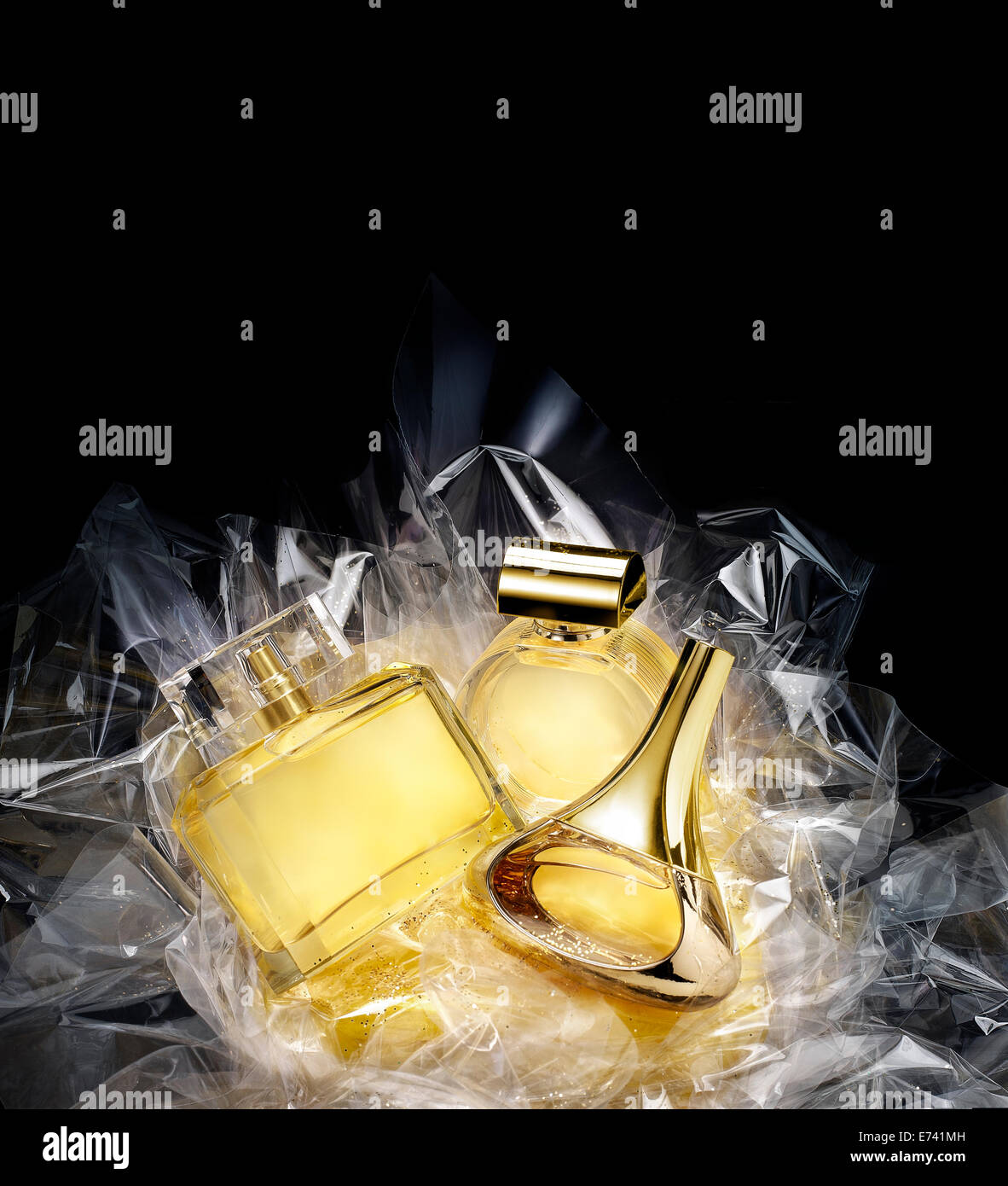 Fine fragrances in a concept gift set. - Stock Image
