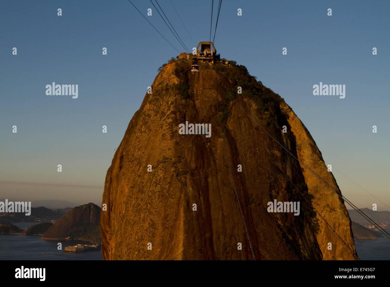 Pao de Azucar, Rio de Janeiro, Brazil. - Stock Image