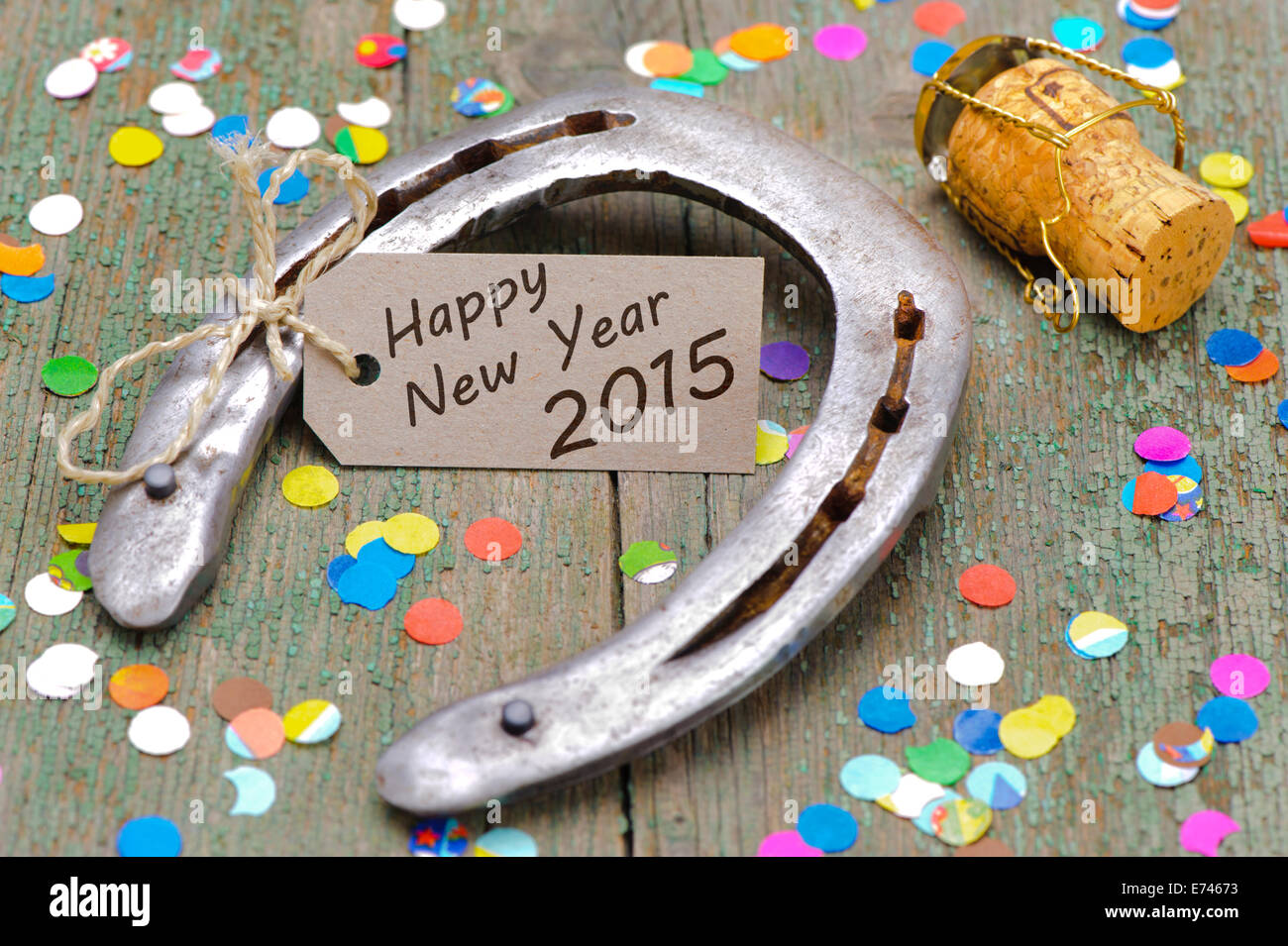 talisman for new year Stock Photo