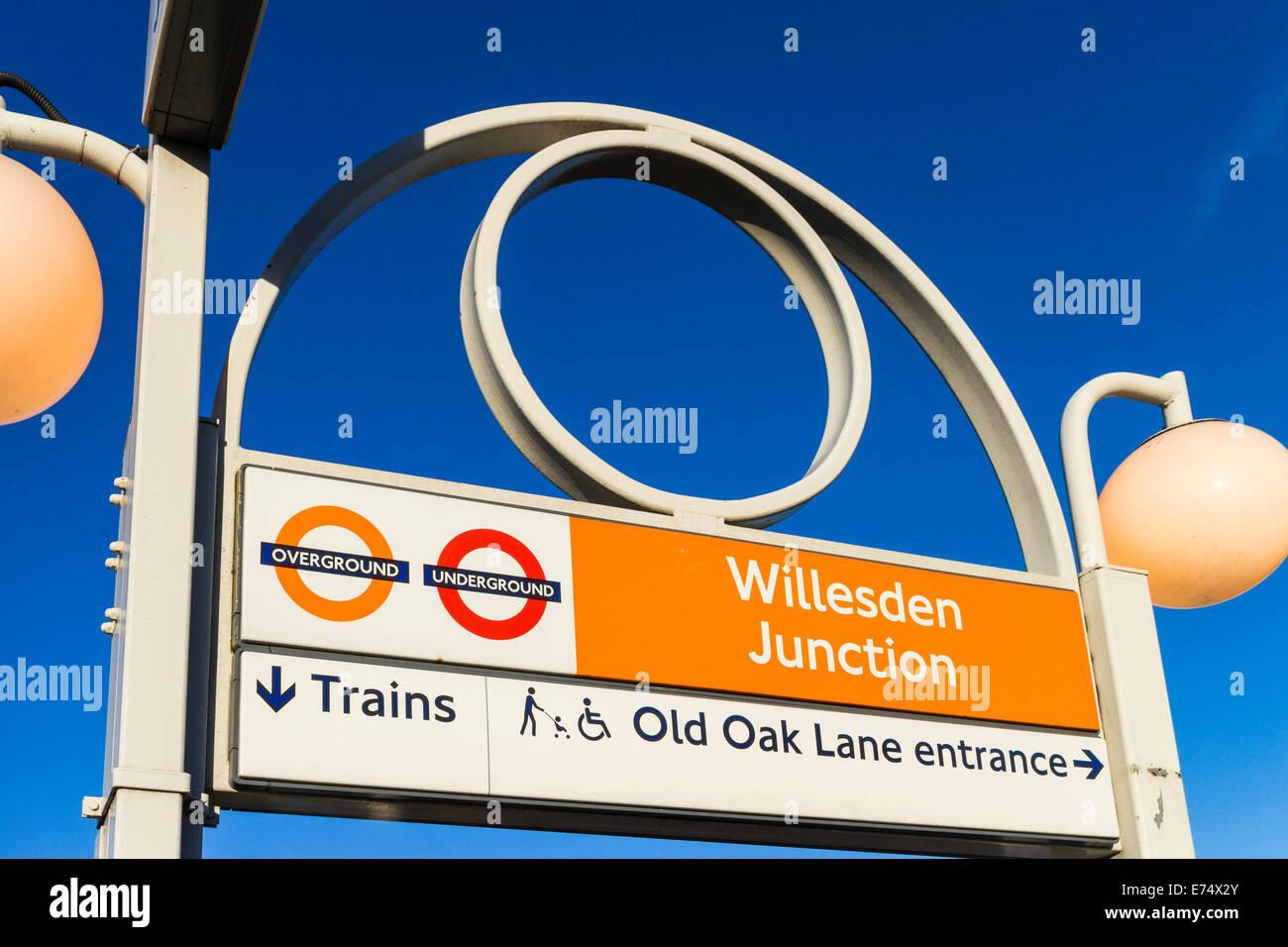Willesden Junction station - London - Stock Image