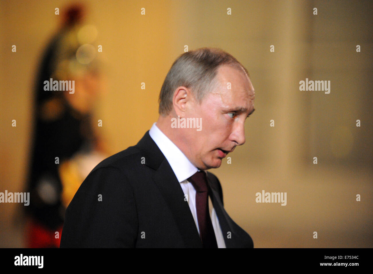 Portrait Of Russian President Vladimir Putin Pictured During His Stock Photo Alamy