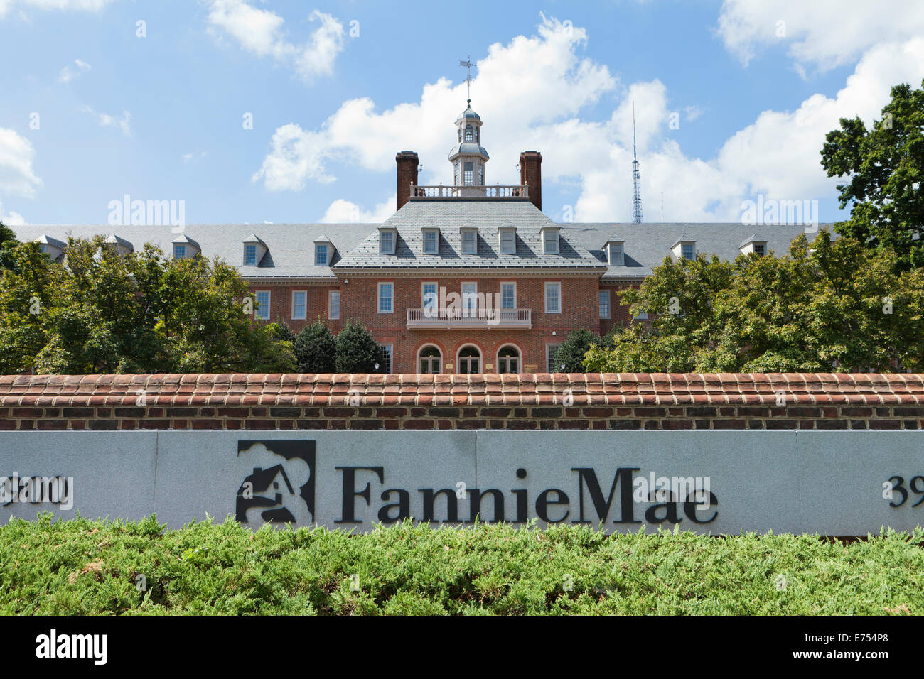 Fannie Mae building - Washington, DC USA - Stock Image