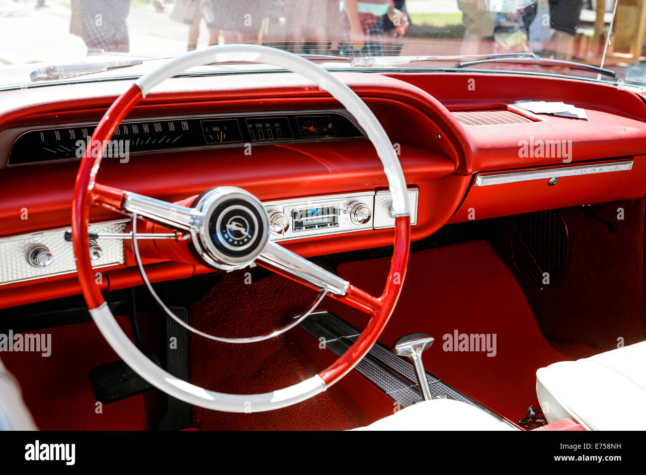 1960s Chevy Impala Interior