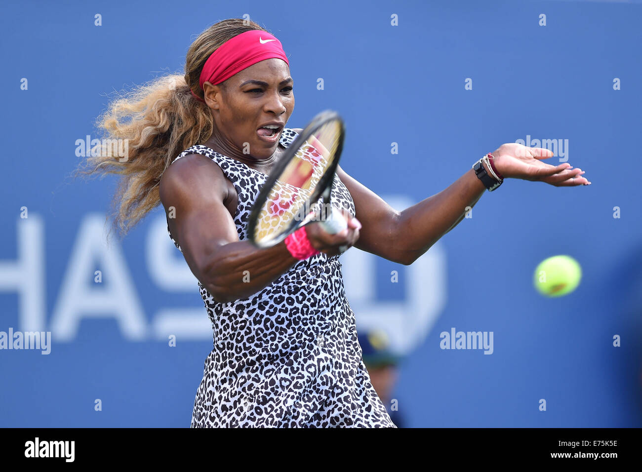 Flushing Meadows, New York, USA. 07th Sep, 2014. US Open, Billie Jean King National Tennis Center, Flushing Meadow, Stock Photo