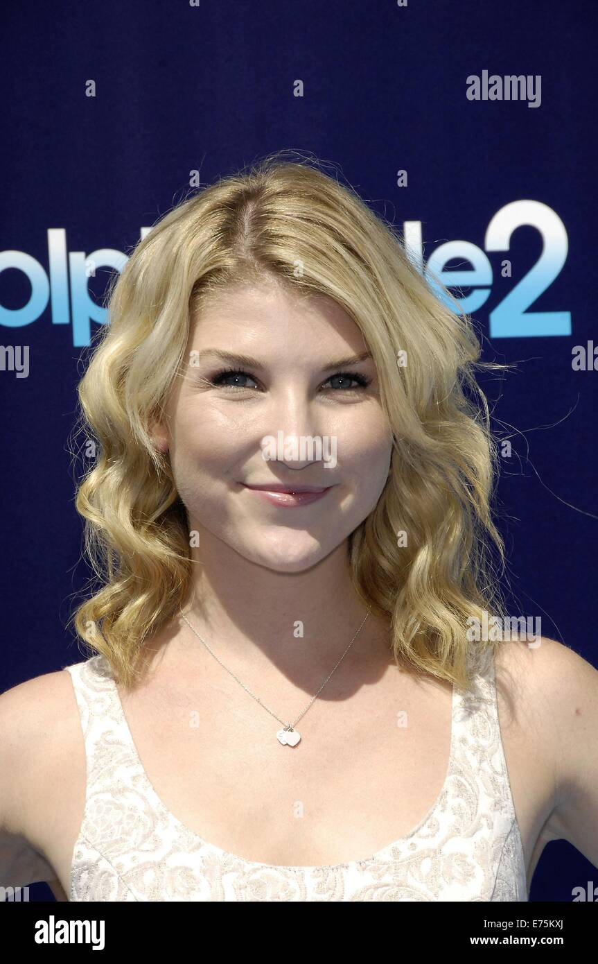 Los Angeles, CA, USA. 7th Sep, 2014. Emmy Buckner at arrivals for DOLPHIN TALE 2 Premiere, The Regency Village Theatre, - Stock Image