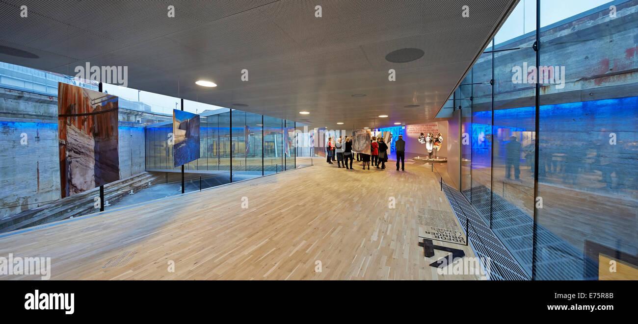 Danish Maritime Museum (M/S Museet for Sofart), Helsingor, Denmark. Architect: Bjarke Ingels Group (BIG), 2013. - Stock Image