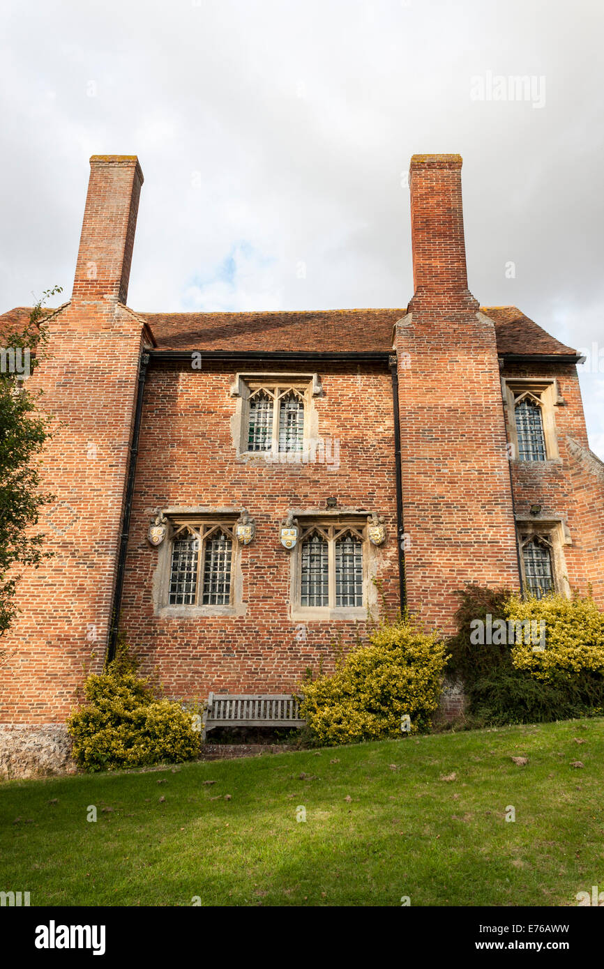Ewelme School, est  1437, the oldest school building in the