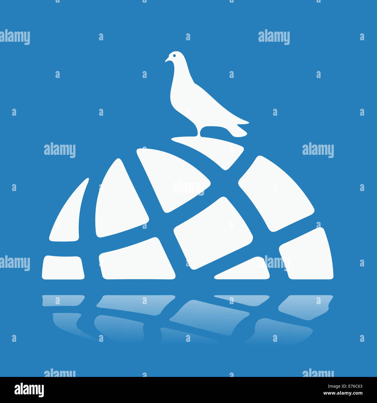 Symbol World Crisis - Stock Image