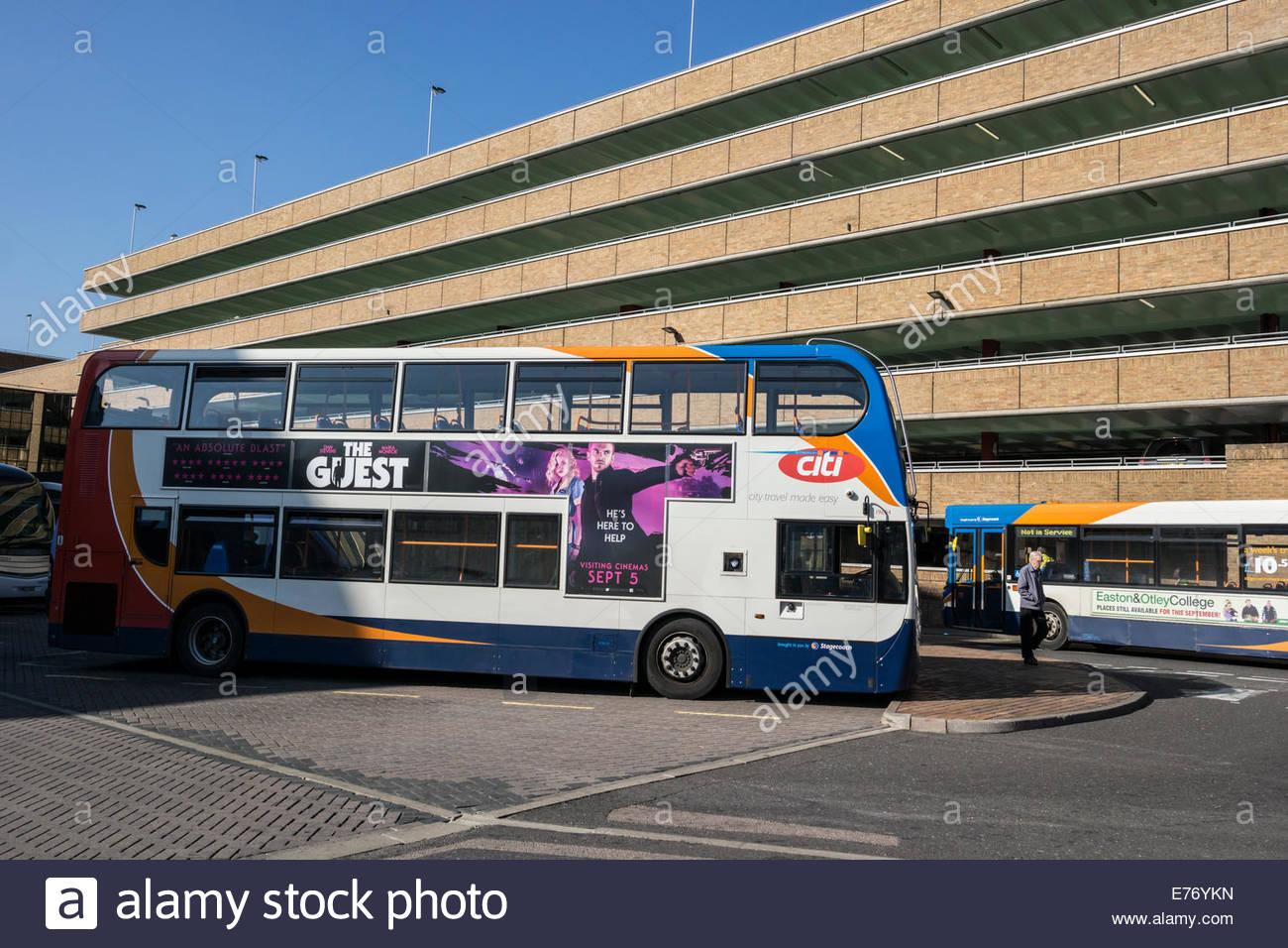 peterborough bus station stock photos peterborough bus. Black Bedroom Furniture Sets. Home Design Ideas