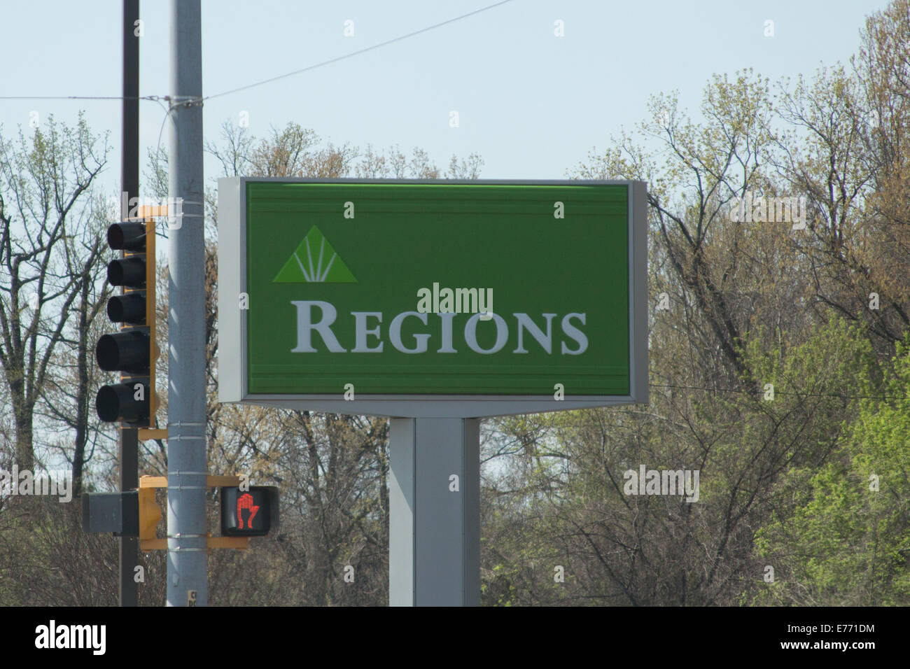 Regions Bank Stock Photos Images Alamy Wiring Instructions For Sign Image