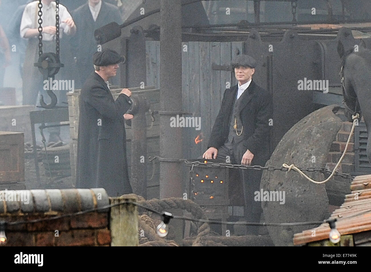 Peaky Blinders Stock Photos & Peaky Blinders Stock Images