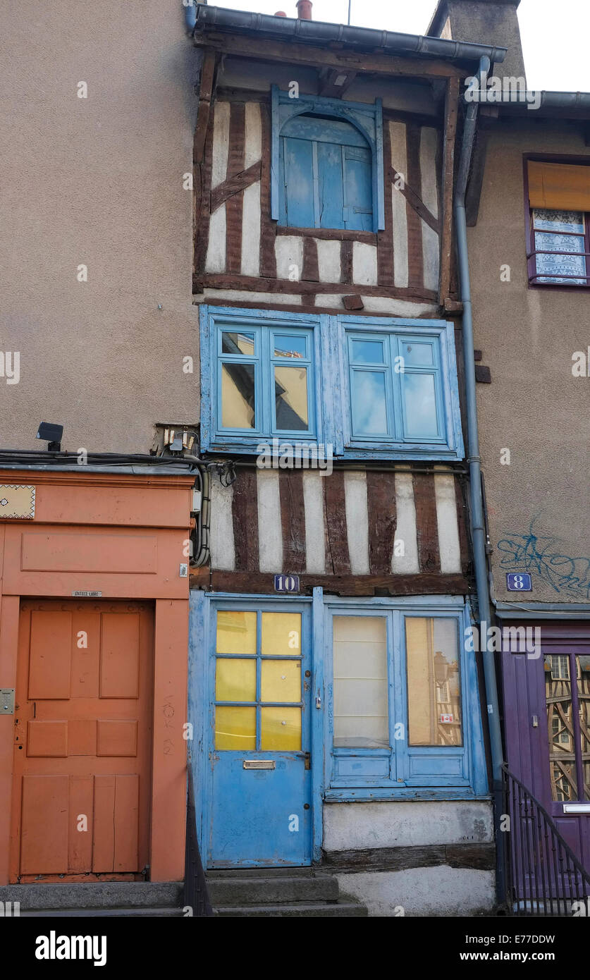 rennes, brittany, france Stock Photo