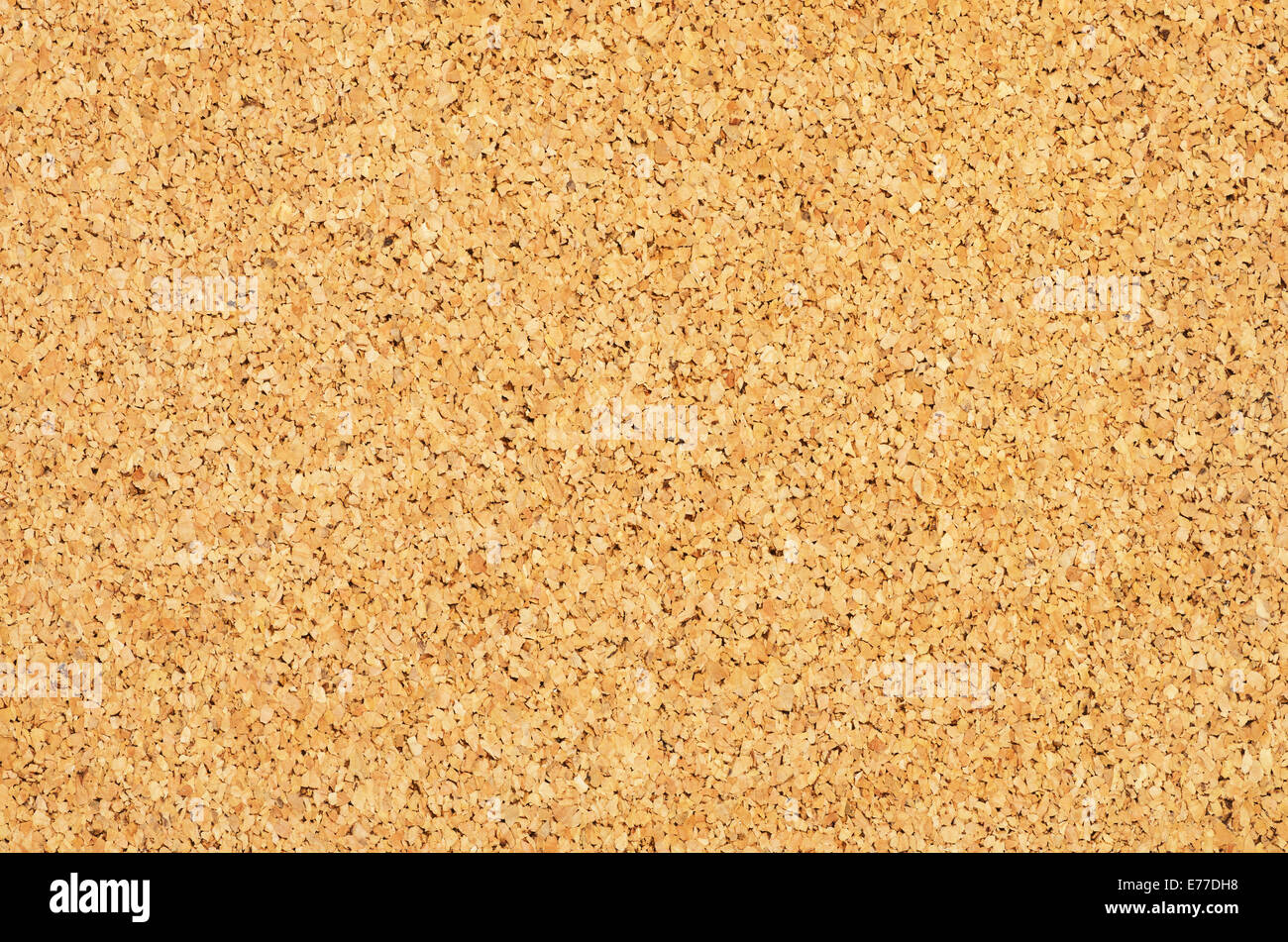 cork pin board background texture - Stock Image
