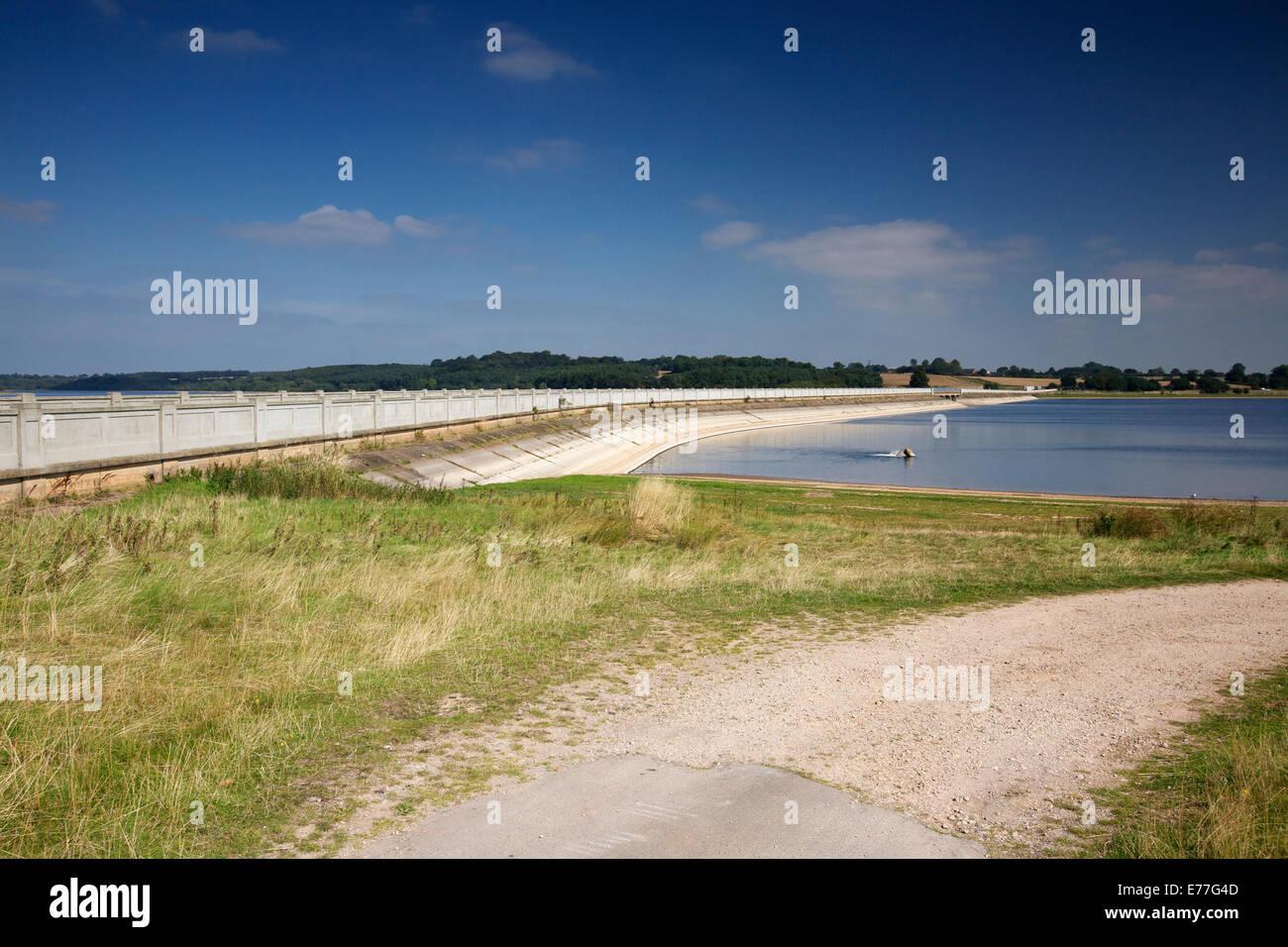 Blithfield Reservoir Blithfield Staffordshire West Midlands England UK - Stock Image