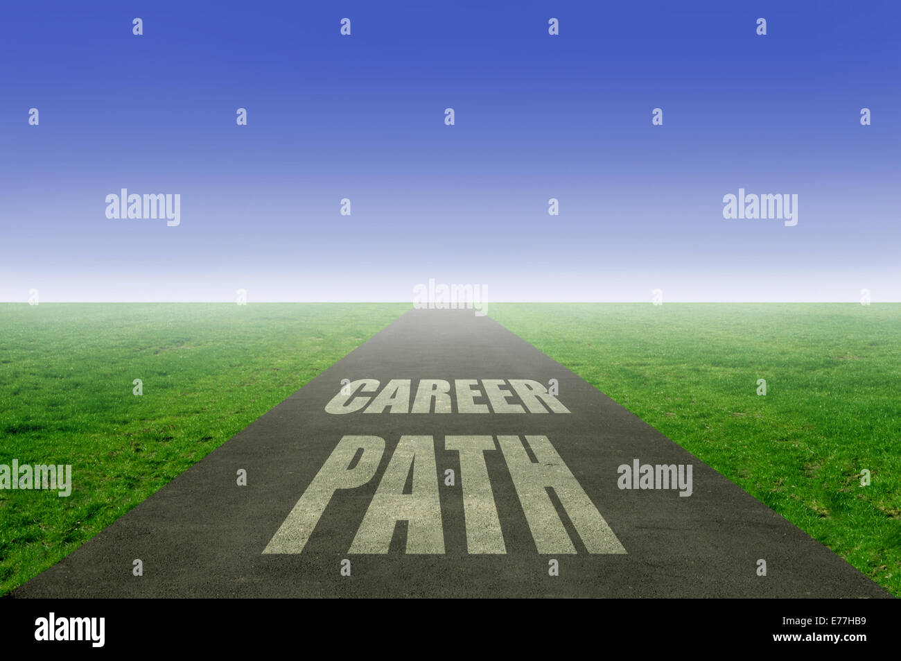 Career path concept - Stock Image