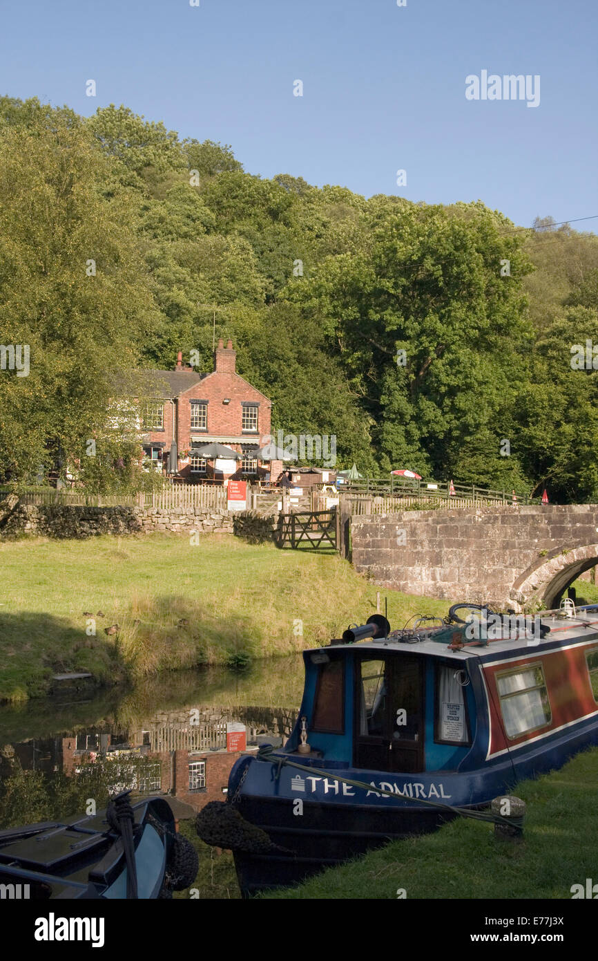 The Caldon Canal - Stock Image