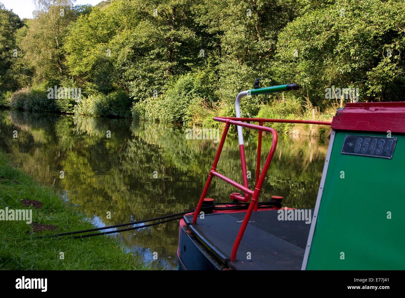 Uk Inland Waterways - Stock Image