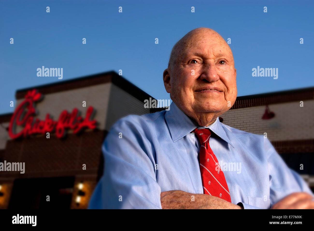 Sept  8, 2014 - Chick-fil-A Founder Truett Cathy Died Monday at Age