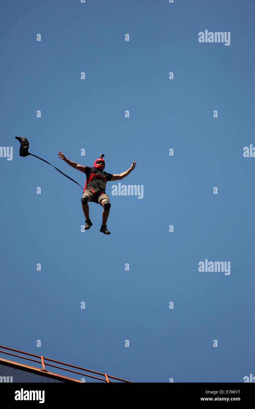 Basejumper - Stock Image