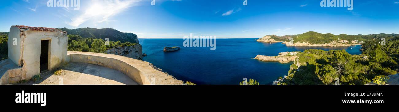 Ibiza west coast - Stock Image