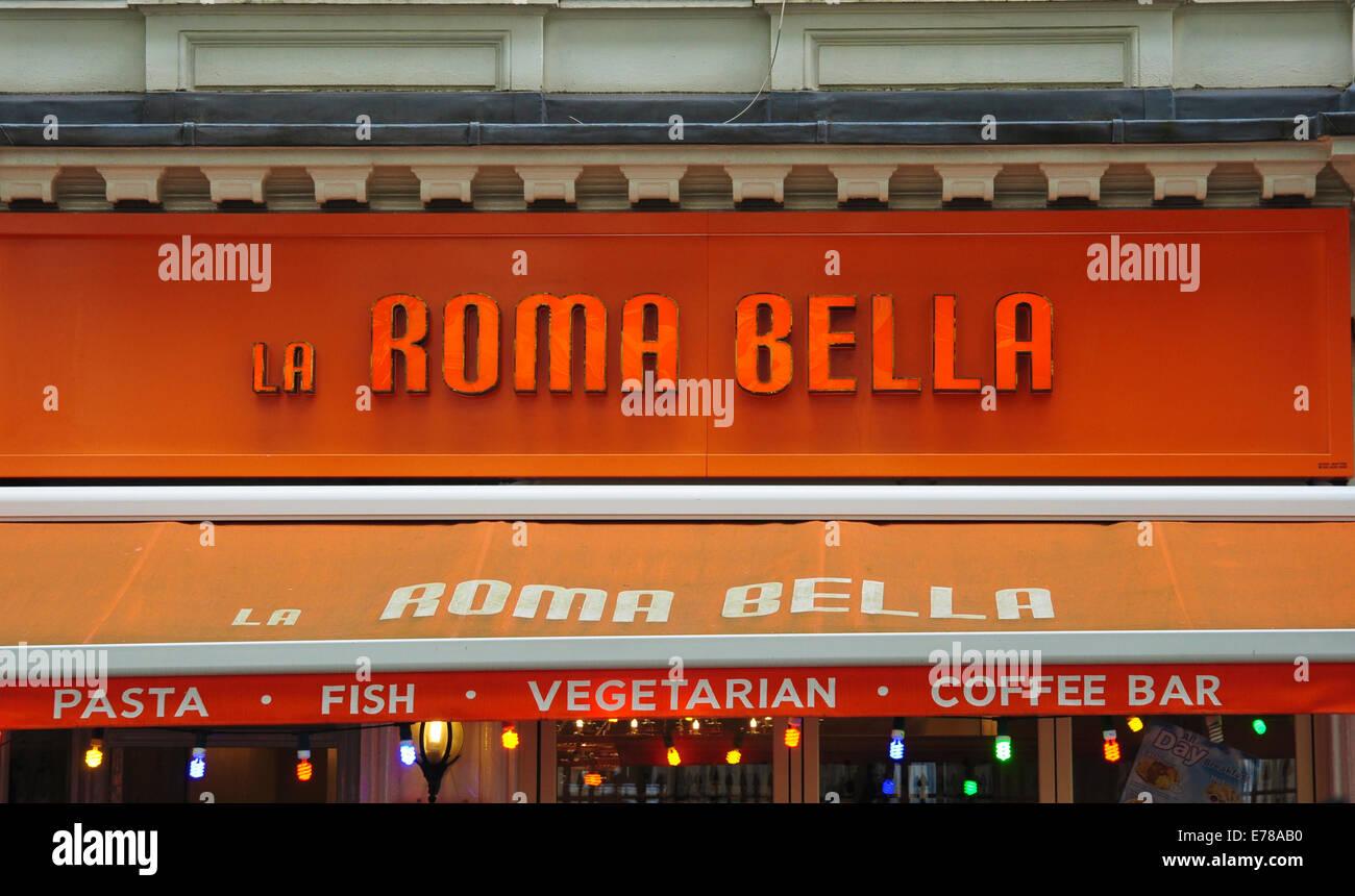 La Roma Bella, Gt Russell Street, London, England, UK - Stock Image
