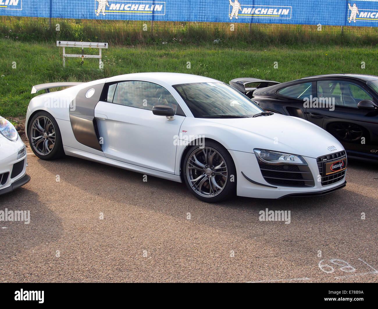 White Audi R Stock Photos White Audi R Stock Images Alamy - White audi r8