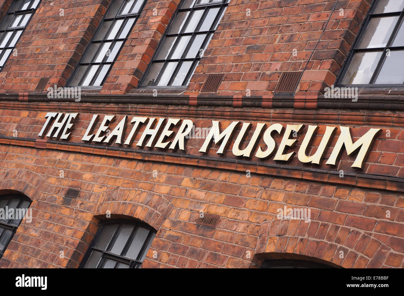 walsall leather museum - Stock Image