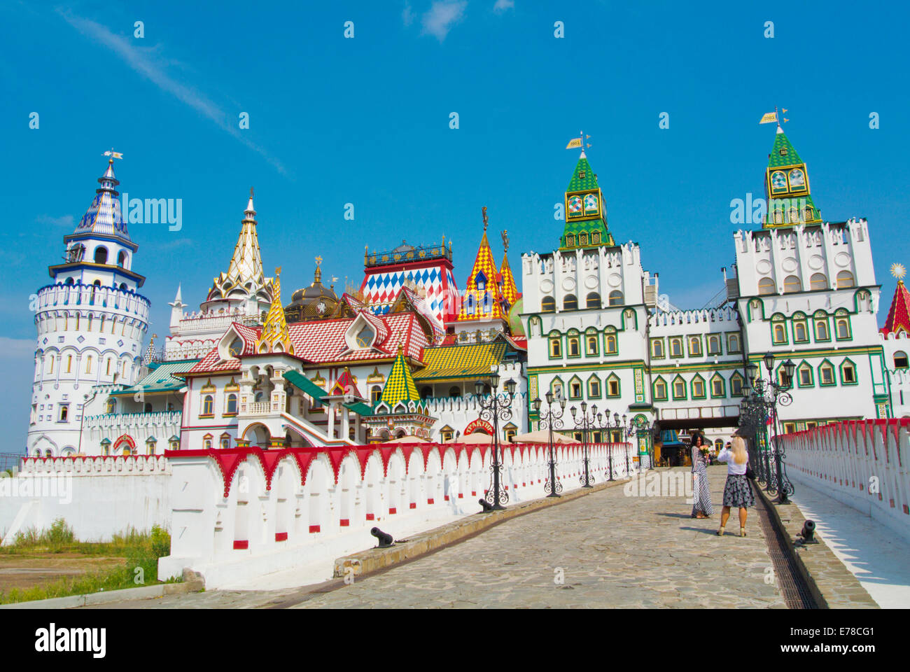 Izmaylovo Kremlin, Izmaylovo district, Moscow, Russia, Europe - Stock Image