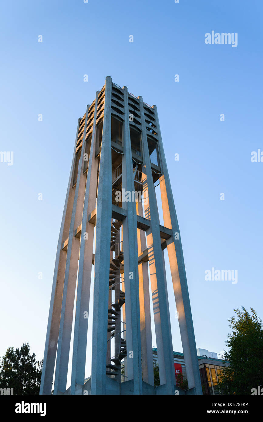The Singing Tower, Netherlands Centennial Carillon Victoria, British Columbia, Canada - Stock Image