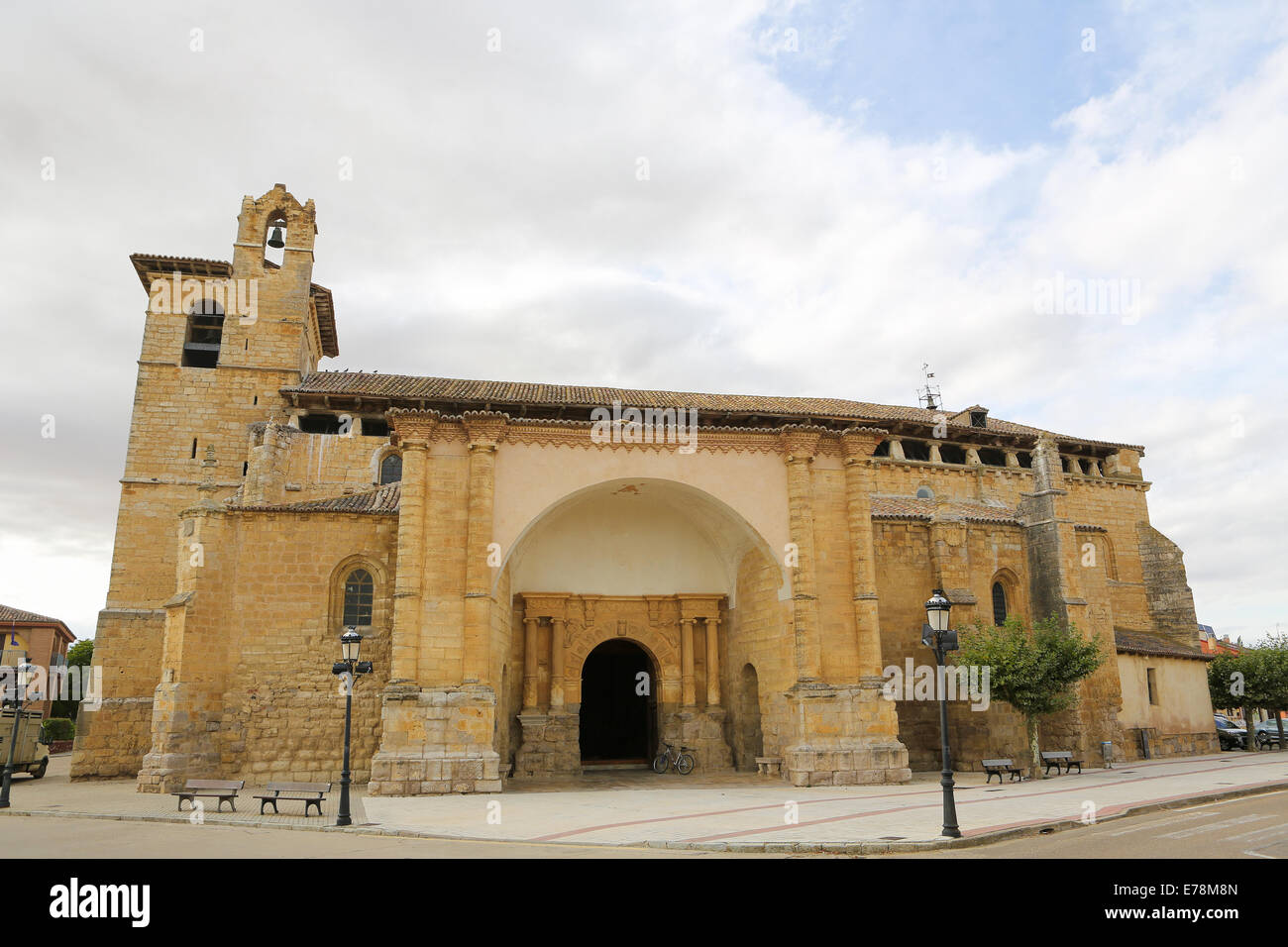Church of san Pedro in Fromista, Castille and Leon, Spain. - Stock Image