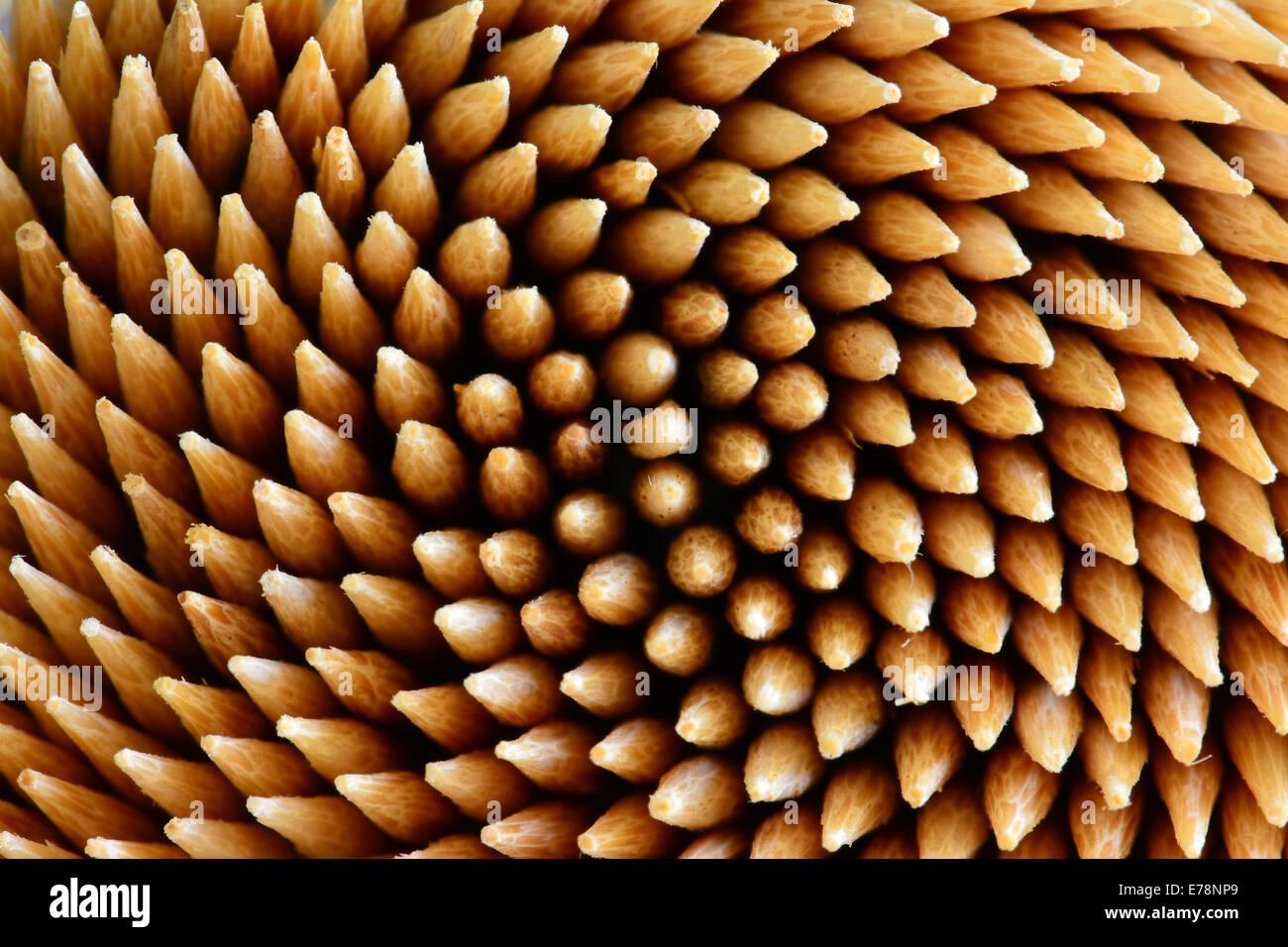 Tooth picks Pattern - Stock Image