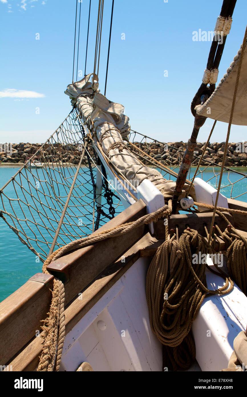 30th Annual Toshiba Tall Ships Festival in Dana Point Harbor Southern California - Stock Image
