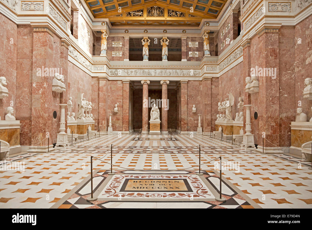Walhalla memorial - Germany - Blog about interesting places |Inside Walhalla Memorial