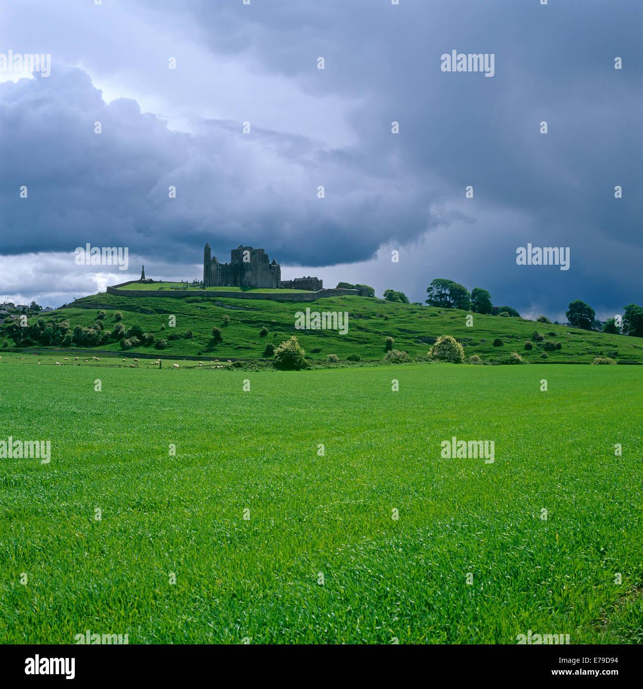 Rock of Cashel Co.Tipperary Ireland - Stock Image