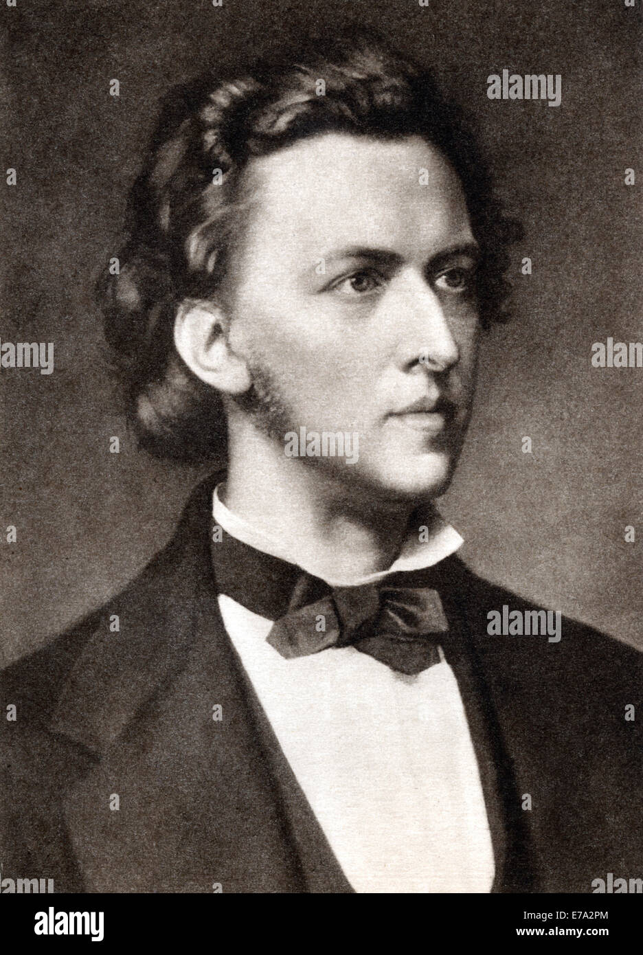 Frédéric François Chopin (1810-1849), Polish Composer, The Mentor Magazine, 1913 - Stock Image