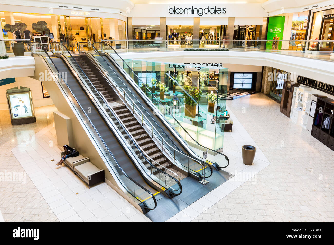 The Mall at Short Hills. - Stock Image