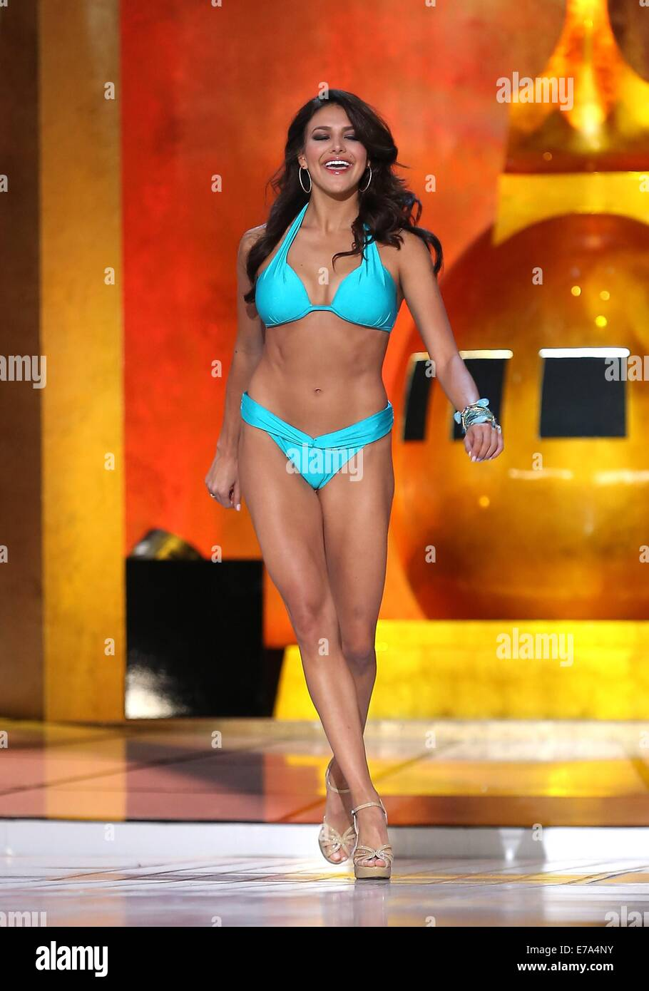 Atlantic City, NJ, USA. 10th Sep, 2014. Miss Alabama, Caitlin Brunell in attendance for 2015 Miss America Competition - Stock Image