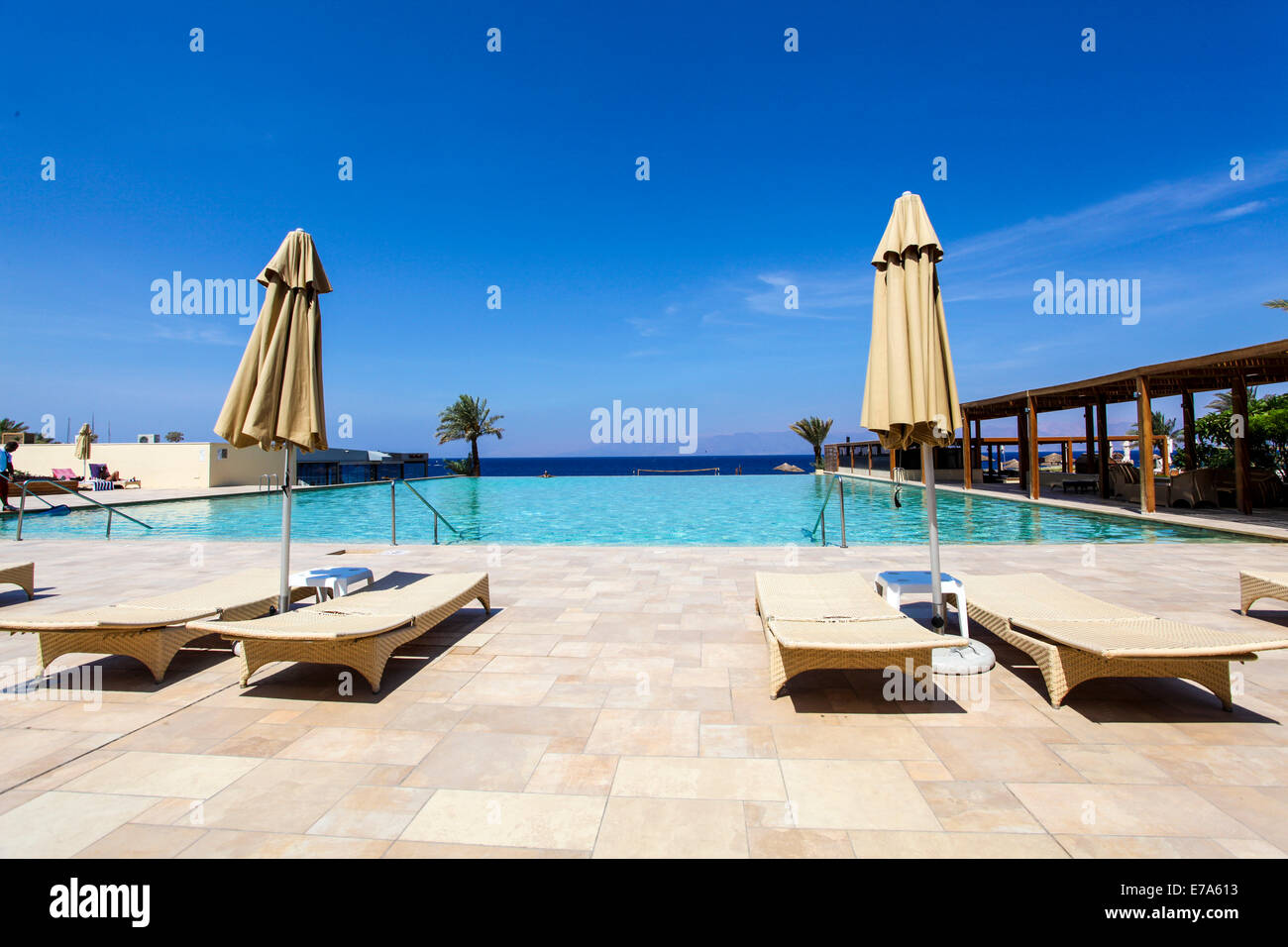 Tala Bay, Aqaba, Jordan. Luxury Beach Resort - Stock Image